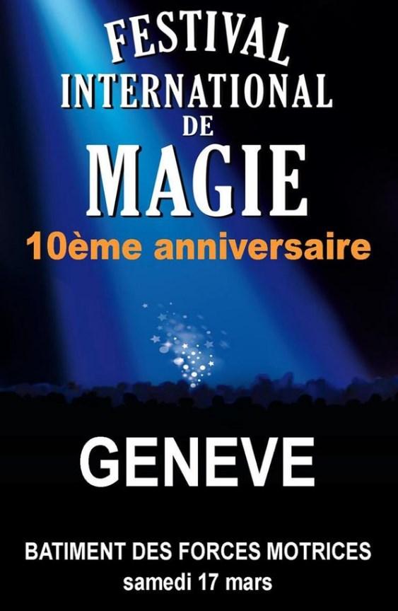 Affiche de la 10ème édition du festival