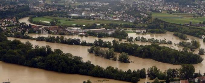D'importantes inondations ont eu lieu dans le canton d'Argovie